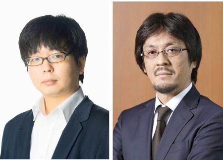 古川真人さん(左)、川越宗一さん