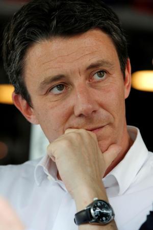 フランス地方選でパリ市長候補になる予定だったグリボー前政府報道官=2019年7月、パリ(ロイター共同)