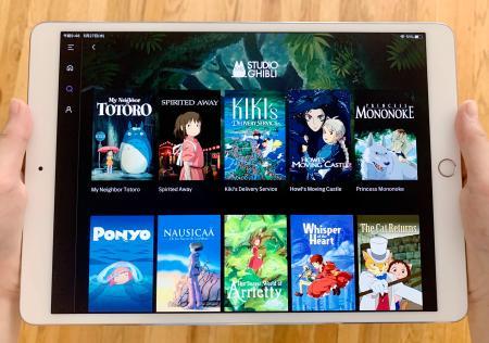 米ワーナーメディアの動画配信サービス「HBOマックス」の目玉の一つとなったスタジオジブリの作品(共同)