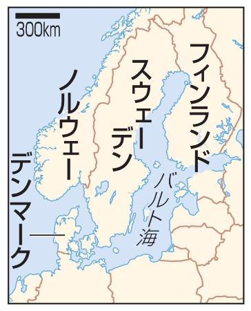 スウェーデン、ノルウェー、デンマーク、フィンランド