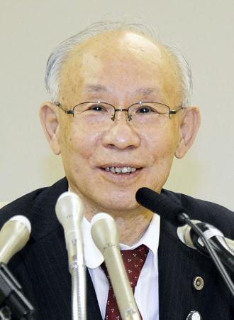5月27日、東京都知事選への出馬を表明する宇都宮健児氏