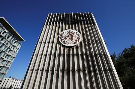 世界保健機関(WHO)本部=スイス・ジュネーブ(ロイター=共同)