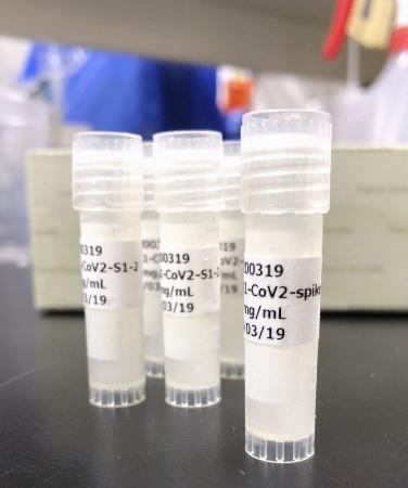 大阪大とベンチャー企業アンジェスが開発中のDNAワクチン(大阪大提供)